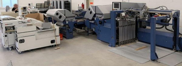 2013 MBO Large format buckle folder T 960-4-4-FP with Palamides Alpha 700