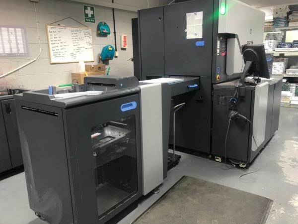 2012 Indigo 7600 Digital Press