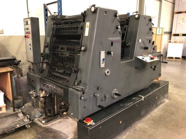 1999 Heidelberg Printmaster GTO 52-2 +  Including Numbering and Perforating Unit