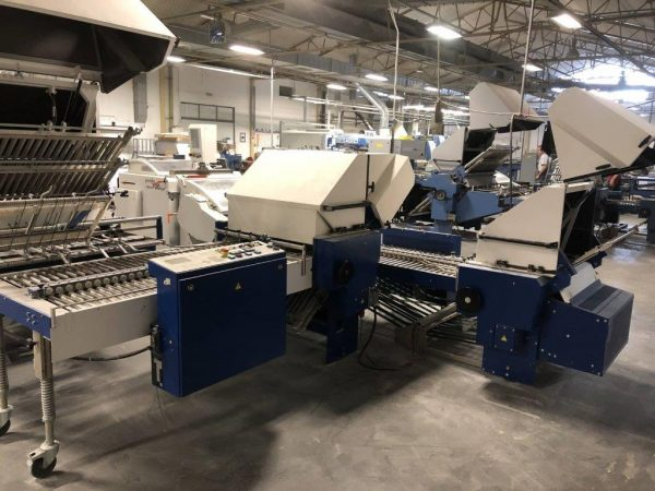 2015 MBO VLF Sized Buckle Folding Machine