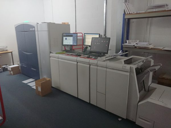 Xerox colour press 1000