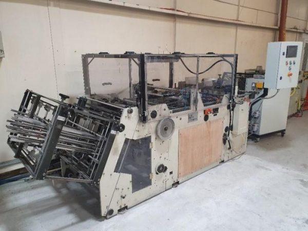 2002 Heiber & Schroder Carton Erector / Tray Former CE 850-2