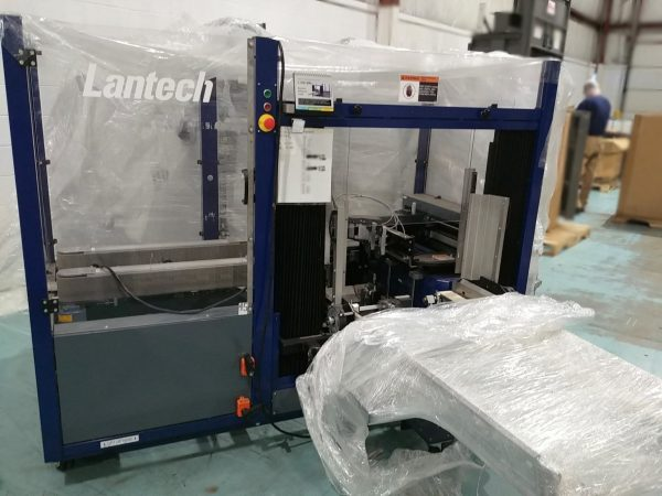 UNUSED!! 2015 Lantech Case Erector C-300