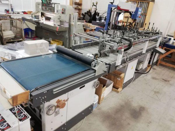 2008 KAMA PRO FOLD Folding and Glueing Machine