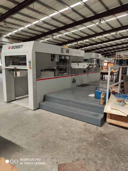 2013 Bobst Novacut 106 with stripping