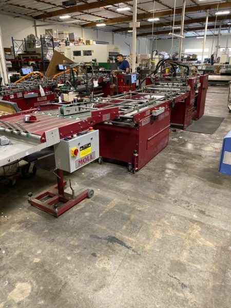 2009 Moll Regal Folder Gluer